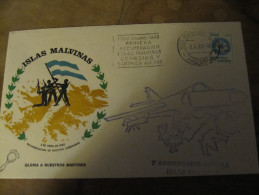 279 Guerre Des Malouines Malvinas Falkland Island Argentine No TAAF Antarctic War Antarctica - Polar Flights