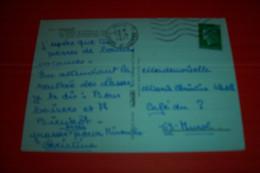 TIMBRE OBLITERATION FLAMME° PARIS GARE ST LAZARE LE 13 04 1971 - Marcophilie (Lettres)