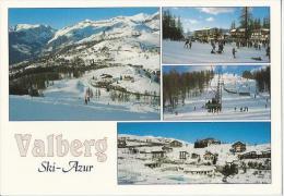06 VALBERG Ski-Azur Circuit Des Gorges Du Cians Et De Daluis, Station été/hiver - France