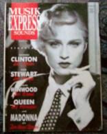 MUSIK EXPRESS SOUNDS-MADONNA,QUEEN.... - Books, Magazines, Comics