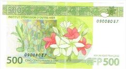 E7 Nouvelle Caledonie IEOM Billet Banque Banknote 500 F Nouvelle Signature 2014 Neuf UNC - Nouméa (New Caledonia 1873-1985)