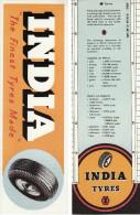 Motoring Bookmark India Tyres Motor Car Replica - Bookmarks