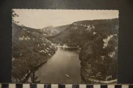 -25-doubs-lac Ou Villers-vue Plongeante Sur Le Doubs-photo Veritable - France