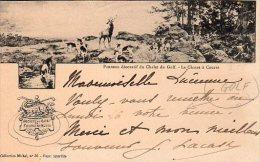 GOLF DE FONTAINEBLEAU - Panneau Décoratif Du Chalet Du Golf - La Chasse à Courre - Fontainebleau