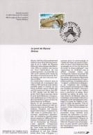 """1995 : Notice Officielle 1er Jour """"  LE PONT DE NYONS / DROME """". N° YT 2956 + Prix Dégressif ! - Postdokumente"""