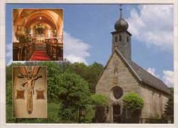 Klosterlangheim , Ehemalige Friedhofskapelle St. Michael Des Zisterzienserklosters Langheim , Hochaltar , Der Gekreuzigt - Eglises Et Cathédrales