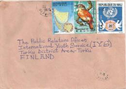 Mali 1996 Bamako Thamnophilus Dove Bird Weaving Basketry UN Cover - Mali (1959-...)