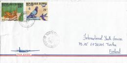 Mali 1994 Bamako Pigeon Dove Bird Cricket Locust Insect Cover - Mali (1959-...)