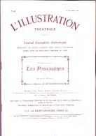 Alfred Capus - Les Passagères  - La Petite Illustration - Théâtre N° 43 - 10 Novembre 1906 - Bücher, Zeitschriften, Comics