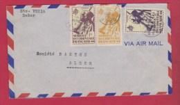 Enveloppe //  Du SENEGAL ( DAKAR) //  Pour ALGER // - Senegal (1887-1944)