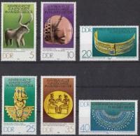 Oost-Duitsland - Altafrikanische Kunstschätze In Museen Der DDR - Michel 2330 - 2335 - Xx/postfris/MNH - [6] Democratic Republic