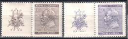 Böhmen Und Mähren 1941 Mi 73-74 **  - Siehe Scan - Occupation 1938-45