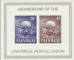 Tuvalu 1981 Admission To UPU Souvenir Sheet MNH - Tuvalu