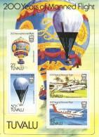 Tuvalu 1983 200 Years Of Manned Flight Souvenir Sheet MNH - Tuvalu
