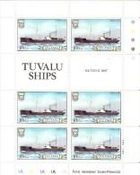 Tuvalu 1984 Ship 10c Titus Sheetlet MNH - Tuvalu