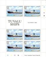 Tuvalu 1984 Ship 35c Anshun Sheetlet MNH - Tuvalu