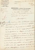 (Corse - 1806). MORAND (J), Général De La Révolution Et De L'Empire (1757- 1813). L.ettre Autographe Signée Au Ministre - Autographes