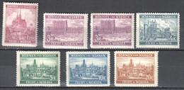 Böhmen Und Mähren 1939 Mi 29,33,33a-37 ** - 7v  - Siehe Scan - Occupazione 1938 – 45