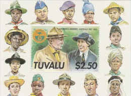 Tuvalu 1987 16th World Scouts Jamboree Souvenir Sheet MNH - Tuvalu
