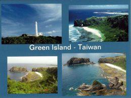 1 AK Taiwan * Ansichten Von Green Island, Auch Bekannt Als Lü Dao Insel, U.a. Mit Leuchtturm - Taiwan