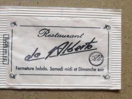 Emballage De Sucre Ancien LOGOPACK Colmar Do Alberto 157 - Sugars