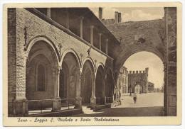 Fano - Loggia San Michele E Porta Malatestiana - H1619 - Fano