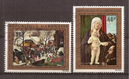 Gabon    Y/T   Luchtpost    132 / 133    (O)    Kerstmis   1972 - Gabon (1960-...)