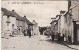 SAINT NOM La BRETECHE -  Le Boulevard ,animée (edts J.D Et Cie ) - St. Nom La Breteche