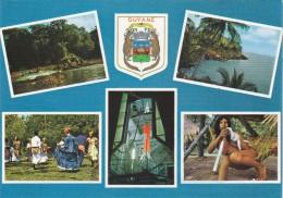 Cp , 973 , GUYANE ,  Multi-Vues - Guyane