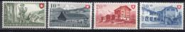 Switzerland 1949 Mi#508-511 Mint Hinged