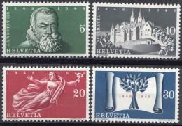 Switzerland 1948 Mi#496-499 Mint Hinged