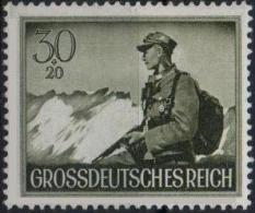 ALLEMAGNE DEUTSCHES III REICH 803 ** MNH Soldat Armée Alpiniste Wehrmacht Alpen (CV 5 €) - Germany