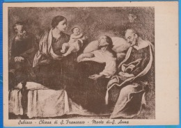 ITALY, ITALIE SUBIACO CHIESA DI S. FRANCESCO MORTE DI S. ANNA,  E OPERA DI GIULIO ROMANO DISCEPOLO RAFFAELLO - Other