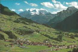 Reichenbach Und Scharnachtal Im Kandertal Mit Blümlisalpgruppe,Bachfluh, Und Aermighorn - BE Berne