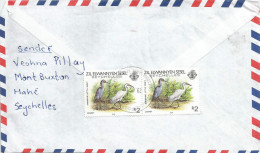 Seychelles 2000 Victoria Egret Bird Cover - Seychellen (1976-...)