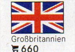 6-set Flaggen-Sticker Großbritannin In Farbe 4€ Zur Kennzeichnung Von Alben+Sammlung Firma LINDNER #660 Flags Of Britain - Matériel