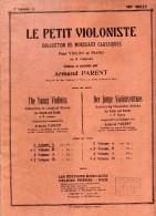 PARTITIONS - LIVRE PARTITIONS LE PETIT VIOLONISTE Pour Violon Et Piano - 18 PAGES - éditions Musicales Delrieu Frères NI - Scores & Partitions