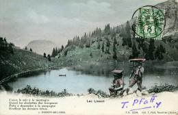 LAC LIOSON.......CPA  ANIMEE - Suisse
