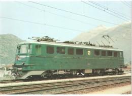 TRAIN Suisse - EISENBAHN Schweiz - SBB CFF Locomotive Ae 6/6 11401 - 11425 - Trains