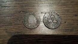2 Pièces à Identifier - Vatican Je Crois - 1640 Et 1636 - Italy