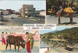 España--Gerona--1977--La Junquera--Aduana,España-Francia--Le Perthus----Fechador--Le Perthus--a, Francia - Aduana