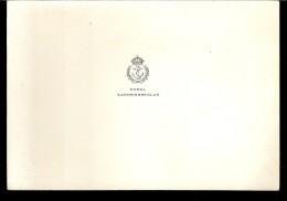 CARTE DE VŒUX :KUNGL SJOKRIGSSKOLAN NASBY SLOTT NASBYPARK - Cartes Marines