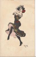 9011 - Danse Simplicissimus  Série 6  Carte N°6 - Reznicek, Ferdinand Von