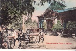 PITESTI  , Gradina  Publica  ---  Beraria  , Sucursala   I.G.BUTANESCU  ,  1906  ----  Brasserie - Roumanie