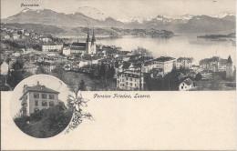 9018 - Pension Friedau Luzern - LU Lucerne
