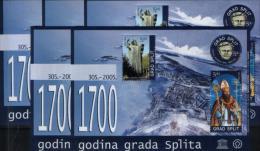 Croatia-Split -Unesco --lot Of Cinderela X5--MNH(**)