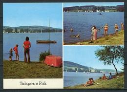 Talsperre Pirk/ Mehrbildkarte - N. Gel. - DDR - Bild Und Heimat   A1/1434/86  01 14 0238/13 - Oelsnitz I. Vogtl.