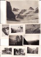 Valle D'Aosta - Courmayeur -Monte Bianco - Lotto Di N. 50  Foto  - Anni '40  - Formati Vari - Aosta