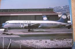 TAR TRANSPORTS AERIENS REUNIS  DC 6B  F BOEV - 1946-....: Moderne