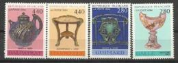 Y. Et T. 2854 à 2857 - Arts Décoratifs 1994 - France